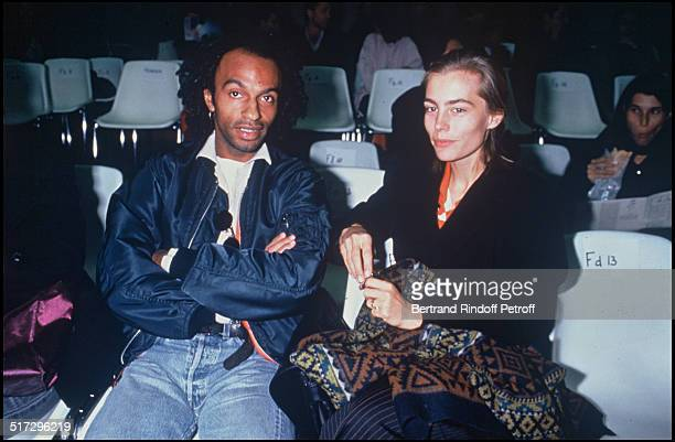 Manu Katche and Sophie Duez People Yohji Yamamoto ready to wear fashion show spring summer 1993 collection in Paris