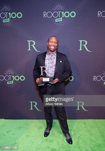 Manu Platt attends 2019 ROOT 100 Gala at The Angel Orensanz Foundation on November 21 2019 in New York City