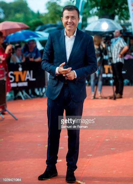 Manu Sanchez attends the red carpet closing of FesTVal 2018 on September 8 2018 in VitoriaGasteiz Spain
