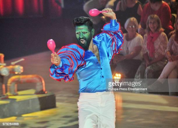 Manu Sanchez during 'Bailando con las estrellas' TVE programme on June 19 2018 in Barcelona Spain