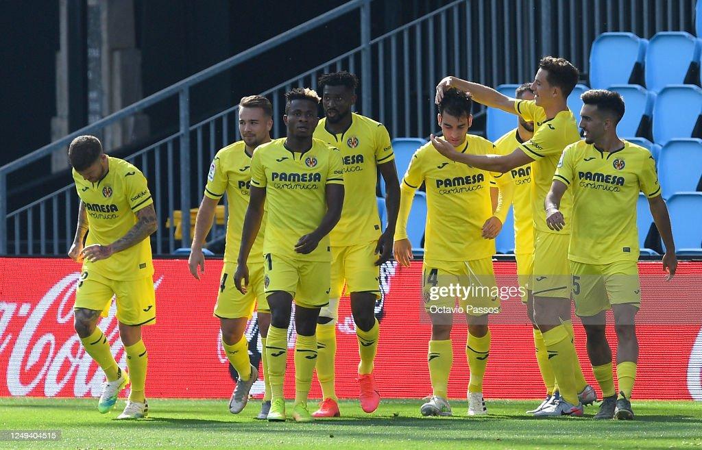 RC Celta de Vigo v Villarreal CF  - La Liga : News Photo