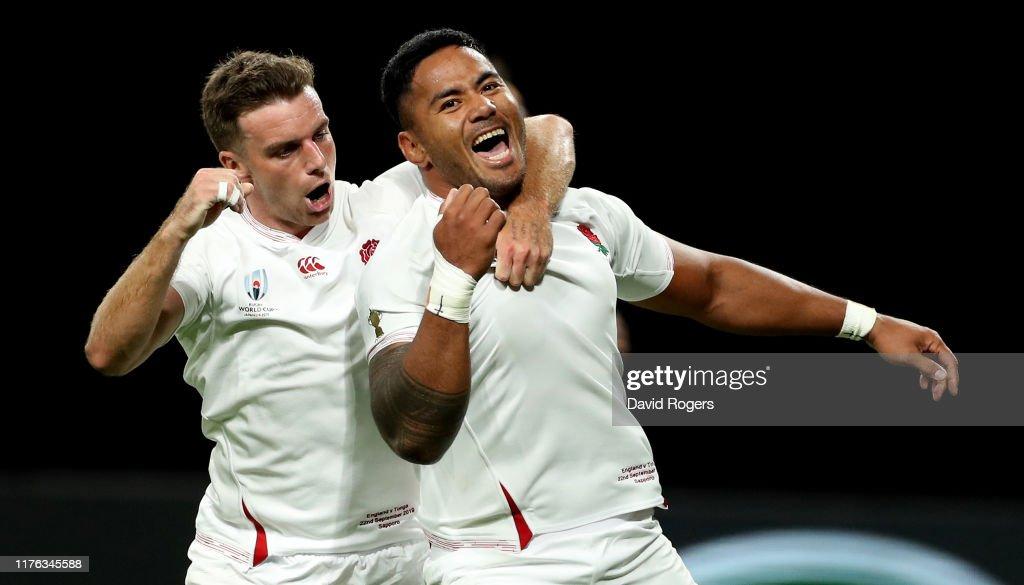 England v Tonga - Rugby World Cup 2019: Group C : ニュース写真