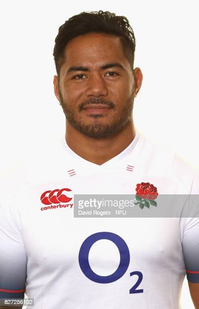 Manu Tuilagi of England poses for a portrait at The Lensbury on August 5 2017 in Teddington England