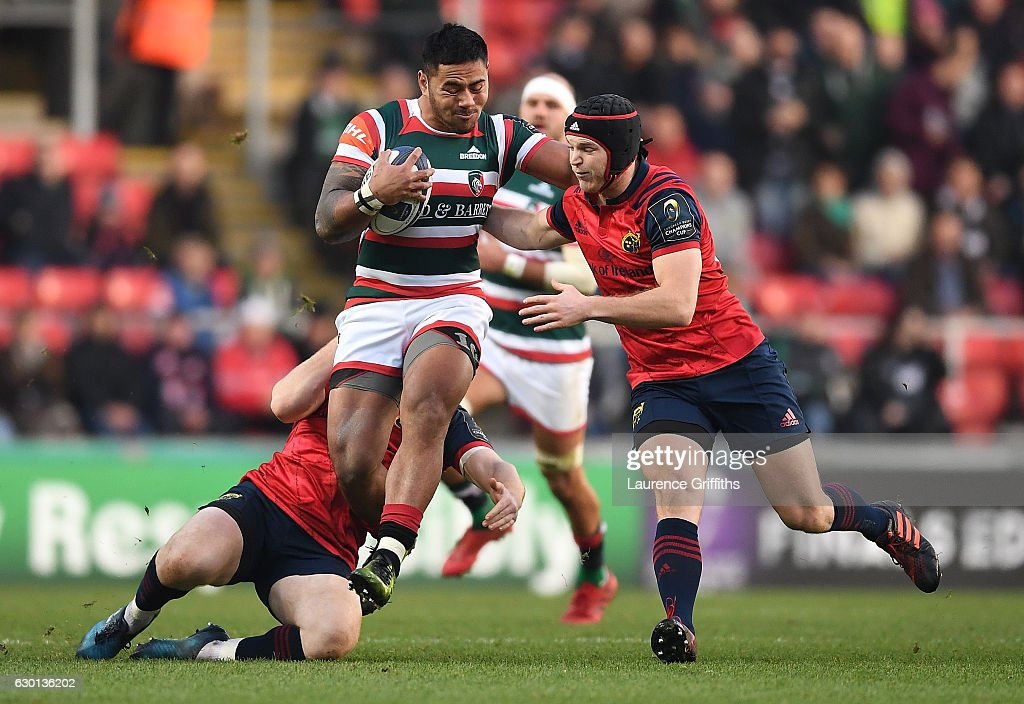 Leicester Tigers v Munster Rugby - European Rugby Champions Cup
