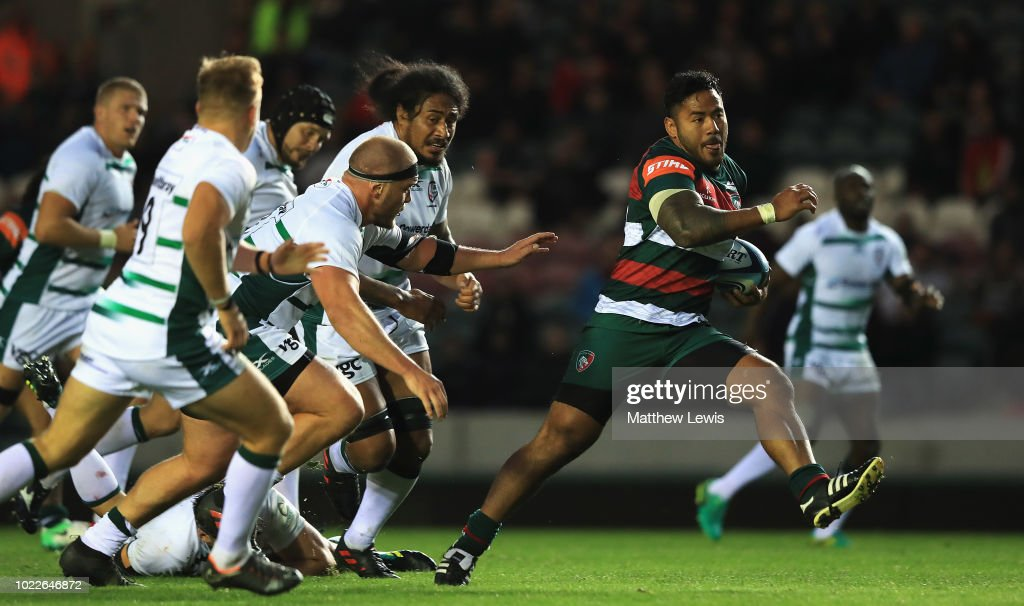 Leicester Tigers v London Irish : Photo d'actualité