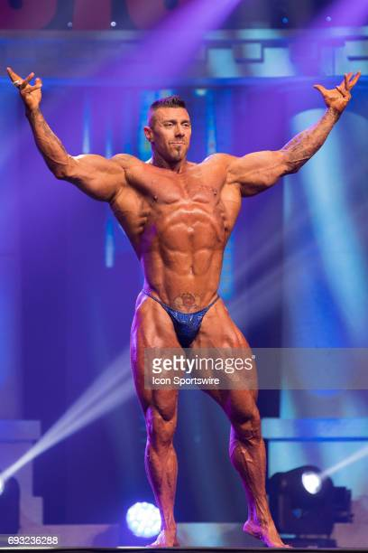 Manual Manchado competes in the Arnold Classic 212 as part of the Arnold Sports Festival on March 3 at the Greater Columbus Convention Center in...