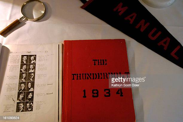 DENVER CO AUG 26 2006 Manual Training High School Reunion for classes 19301939 at the Pinehurst Country Club Old yearbooks and other memories were on...
