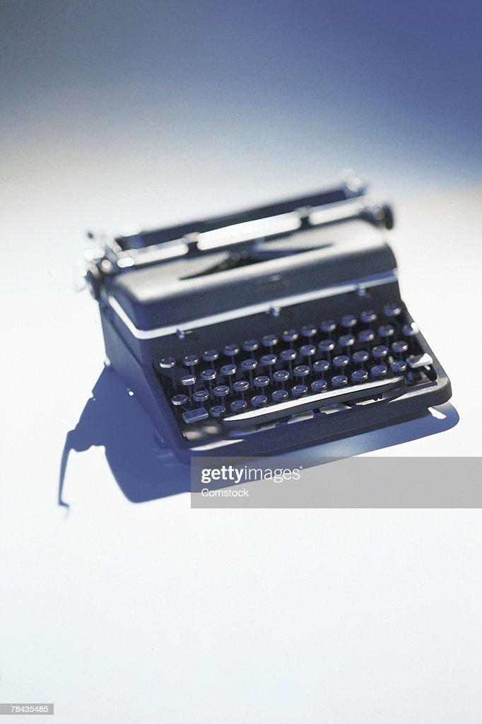 Manual typewriter : Stockfoto