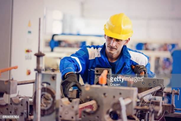 Manual worker as proud meber of trade union