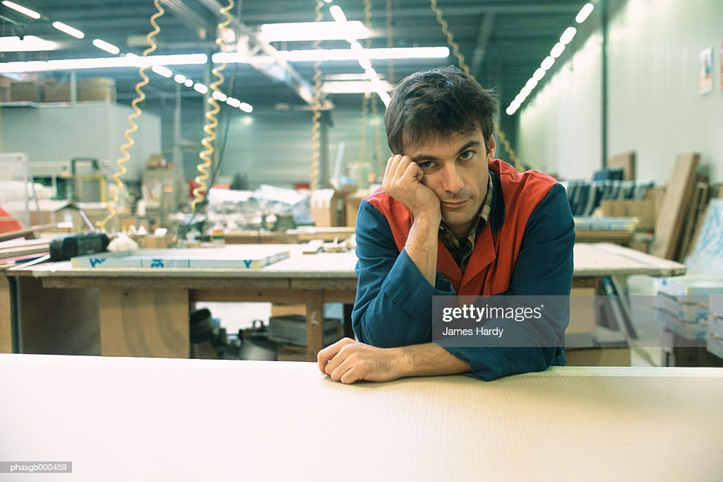 Manual worker : Stock Photo