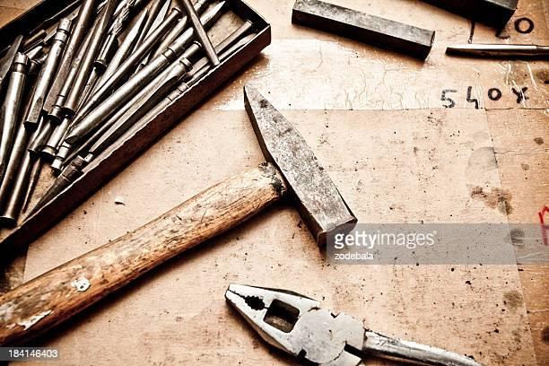 Travailleur manuel outils