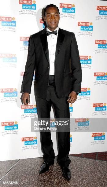 Manucho attends the Manchester United `United for UNICEF' Gala Dinner at Manchester United Museum on November 9 2008 in Manchester England