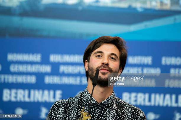Manuel Abramovich attends the press conference after the closing ceremony of the 69th Berlinale International Film Festival Berlin at Berlinale...