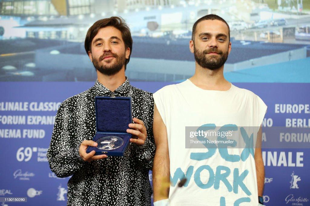 DEU: Award Winners Press Conference - 69th Berlinale International Film Festival