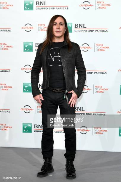 Manuel Agnelli attends Noi siamo Afterhours photocall during the 13th Rome Film Fest at Auditorium Parco Della Musica on October 23 2018 in Rome Italy