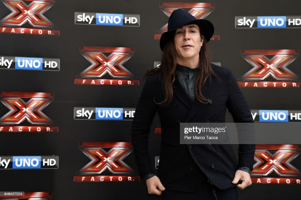 Manuel Agnelli attends X Factor 11 Photocall on September 13, 2017 in Milan, Italy.