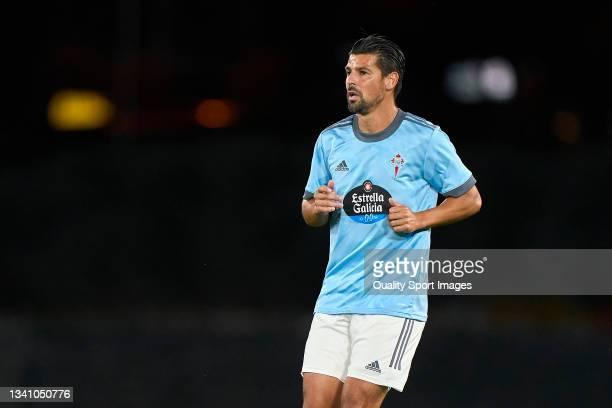Manuel Agudo 'Nolito' of Celta de Vigo looks on during the La Liga Santander match between RC Celta de Vigo and Cadiz CF at Abanca Balaidos Stadium...