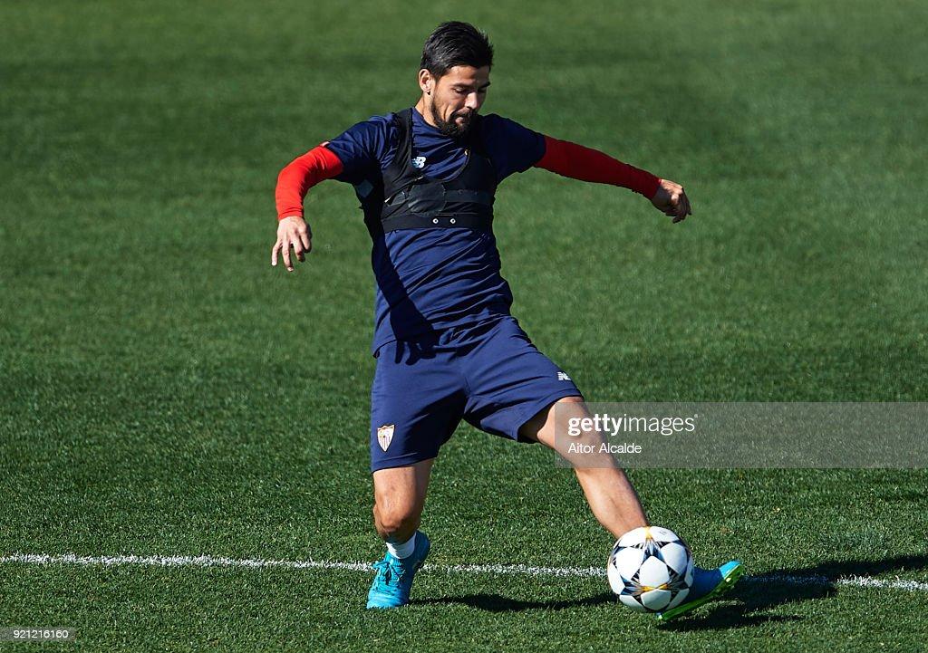 Sevilla Training and Press Conference