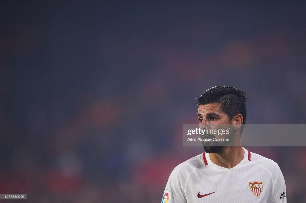 Sevilla vs Villanovense - Copa del Rey - Fourth Round : News Photo