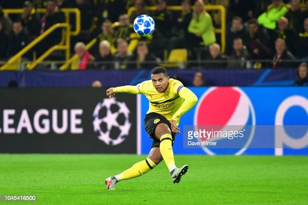 Manuel Akanji of Borussia Dortmund during the UEFA Champions League match between Borussia Dortmund and AS Monaco at Signal Iduna Park on October 3...