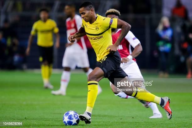 Manuel Akanji of Borussia Dortmund during the UEFA Champions League match between Borussia Dortmund v AS Monaco at the Signal Iduna Park on October 3...