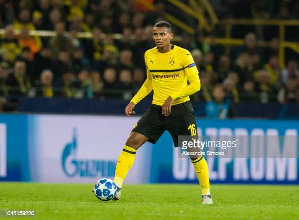 Manuel Akanji of Borussia Dortmund in action during the UEFA Champions League Group A match between Borussia Dortmund and AS Monaco at the Signal...