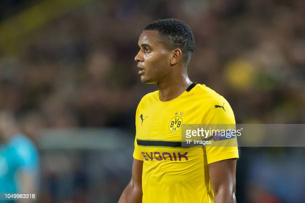 Manuel Akanji of Borussia Dortmund looks on during the Group A match of the UEFA Champions League between Borussia Dortmund and AS Monaco at Signal...