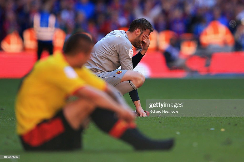 Watford v Crystal Palace - The npower Championship Playoff Final : News Photo