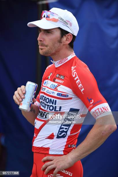 Manuel Belletti of Androni Giocattoli-Sidermec Italy reacts after winning Stage 7 of the Le Tour de Langkawi 2018, Nilai-Muar 222.4 km on March 24,...