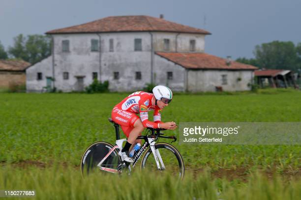 Manuel Belletti of Italy and Team Androni Giocattoli - Sidermec / during the 102nd Giro d'Italia 2019, Stage 9 a 34,8km Individual Time Trial from...