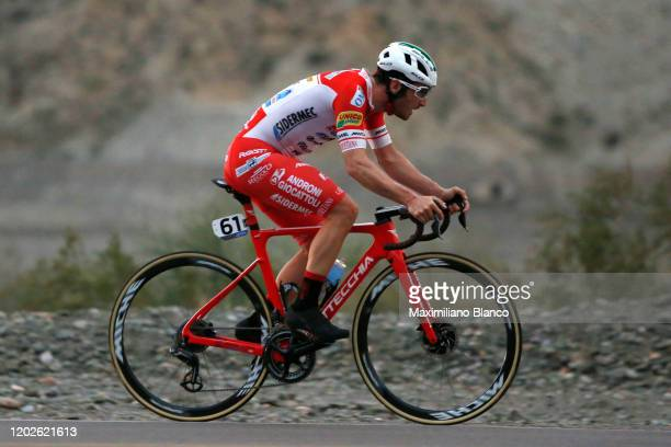 Manuel Belletti of Italy and Team Androni Giocattoli - Sidermec / during the 38th Vuelta a San Juan International 2020, Stage 3 a 15,2km Individual...
