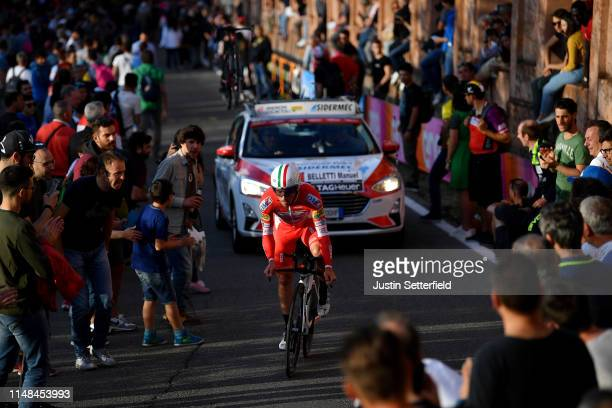 Manuel Belletti of Italy and Team Androni Giocattoli Sidermec / Public / Fans / Landscape / during the 102nd Giro d'Italia 2019 Stage 1 a 8km...