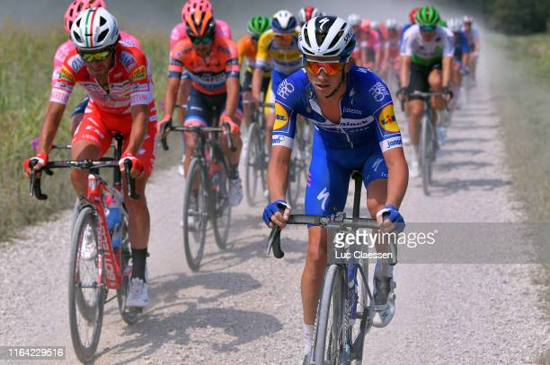 Manuel Belletti of Italy and Team Androni Giocattoli-Sidermec / James Knox of Great Britain and Team Deceuninck-QuickStep / during the 2nd Adriatica...