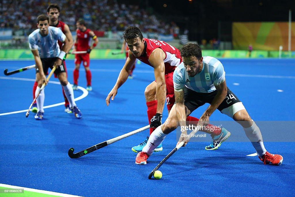 Hockey - Olympics: Day 13 : News Photo