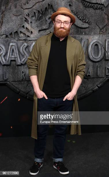 Manuel Burque attends the 'Jurassic World Fallen Kindom' premiere at Wizink Center on May 21 2018 in Madrid Spain