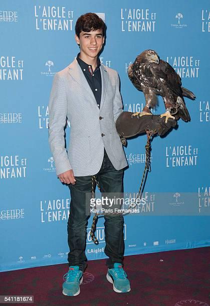 Manuel Camacho attends the 'L Aigle et L Enfant' Photocall at the cinema Gaumont Capucines on June 19 2016 in Paris France