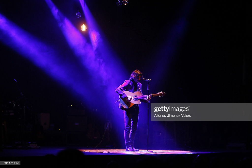 Manuel Carrasco Performs in Concert at Circo Price In Madrid