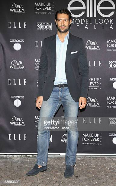 Manuel Casella attends 2012 Elite model look Italia photocall on October 8 2012 in Milan Italy