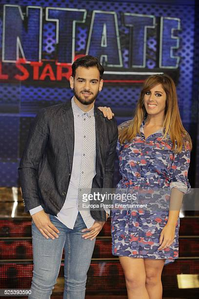 Manuel Cortes and Anabel Pantoja attend 'Levantate All Star' photocall on April 2