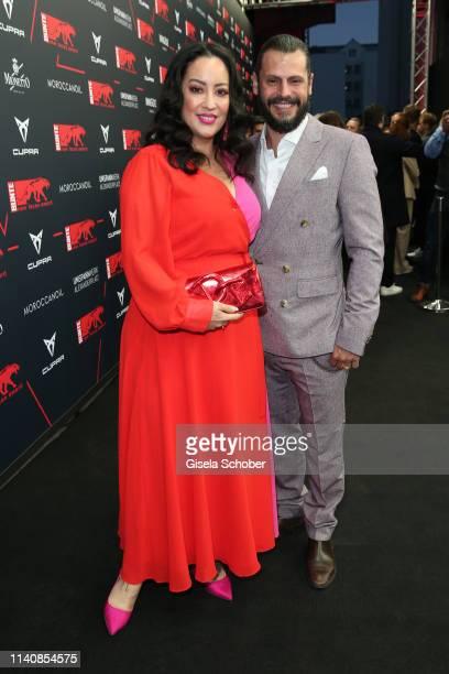 Manuel Cortez and his wife Miyabi Kawai during the Bunte New Faces Award Film at Umspannwerk Alexanderplatz on May 2 2019 in Berlin Germany
