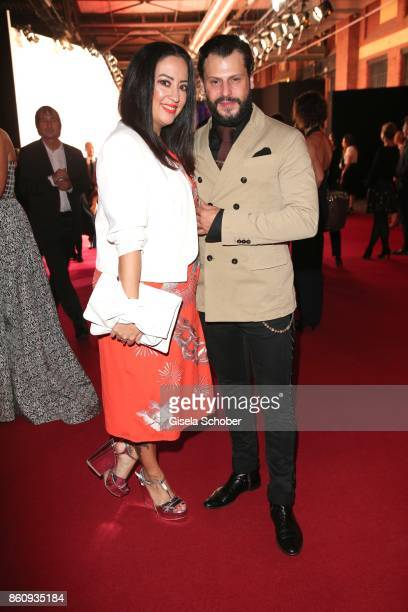 Manuel Cortez and his wife Miyabi Kawai during the 'Tribute To Bambi' gala at Station on October 5 2017 in Berlin Germany