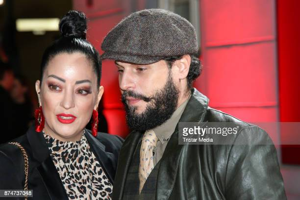 Manuel Cortez and Miyabi Kawai arrive at the New Faces Award Style 2017 on November 15 2017 in Berlin Germany