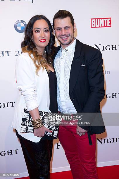 Manuel Cortez and Miyabi Kawai attend the Bunte BMW Festival Night 2014 at Humboldt Carree on February 7 2014 in Berlin Germany