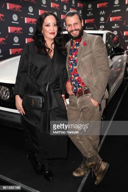 Manuel Cortez and Miyabi Kawai attend the New Faces Award Film at Spindler Klatt on April 26 2018 in Berlin Germany