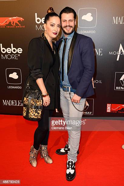 Manuel Cortez and Myabi Kawai attend Leonardo at the New Faces Award Film 2014 at eWerk on May 8 2014 in Berlin Germany