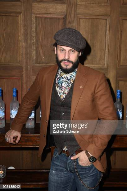 Manuel Cortez attends the Grey Goose afterparty for Idris Elba's film 'Yardie' hosted at Soho House Berlin on February 22 2018 in Berlin Germany
