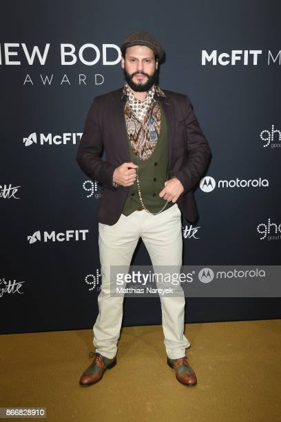 Manuel Cortez attends the New Body Award By McFit Models on October 26 2017 in Berlin Germany
