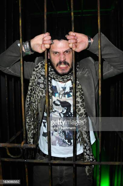 Manuel Cortez attends the opening of the Berlin Dungeon near Hackescher Markt in Berlin on March 14 2013 in Berlin Germany
