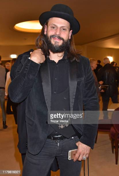 Manuel Cortez attends the Rio Reiser premiere Mein Name Ist Mensch at Komoedie am Kurfuerstendamm at SchillerTheater on October 6 2019 in Berlin...