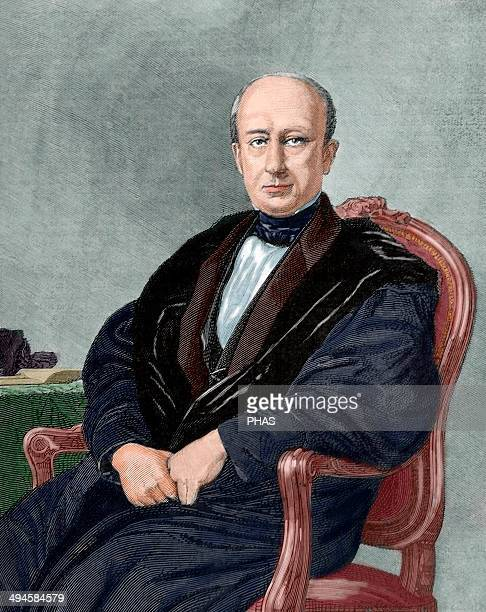 Manuel Cortina Arenzana . Spanish political and military. Engraving by Arturo Carretero. The Spanish and American Illustration, 1879. Colored.